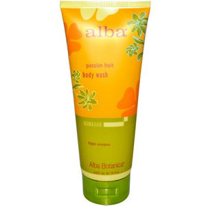 Alba Botanica Passion Fruit Body Wash (1x7 Oz)