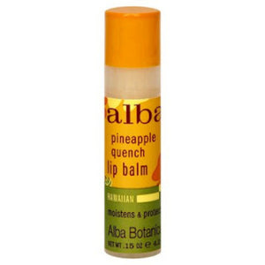 Alba Botanica Pineapple Quench Lip Balm (24x.15 Oz)
