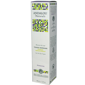 Andalou Naturals Blossom & Leaf Toning Refresher (1x6 Oz)