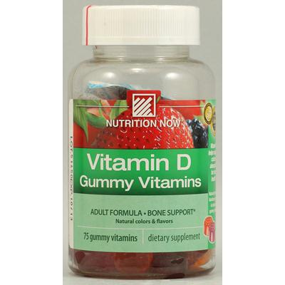 Nutrition Now Vitamin D Adult Gummy (1x75 Chew)