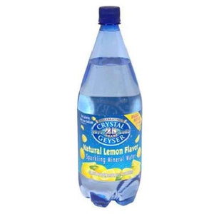 Crystal Geyser Lemon Mineral Water (12x42.25OZ )