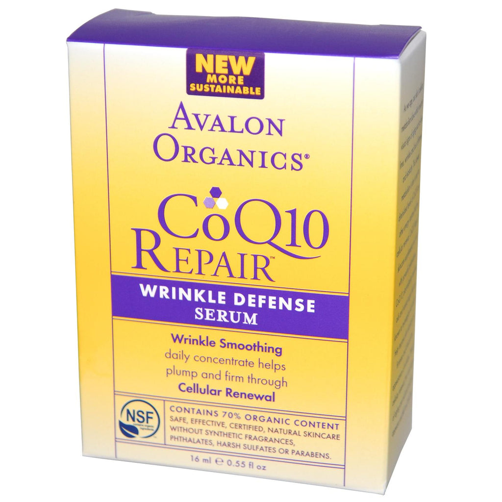 Avalon Organics Coq10 Wrink Serum (1x0.55OZ )