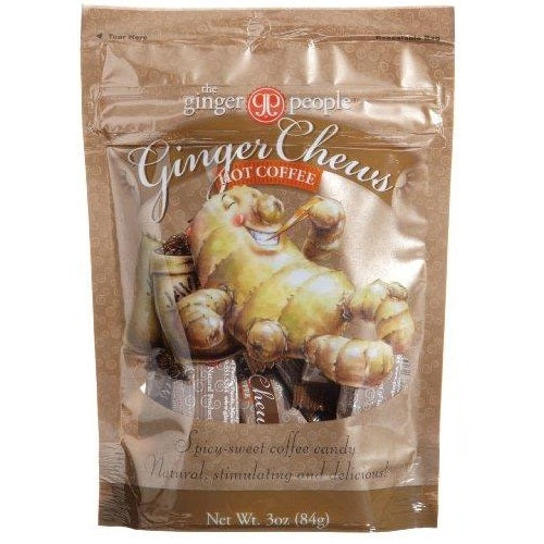Ginger People Hot Coffee Ginger Chews (24x3OZ )