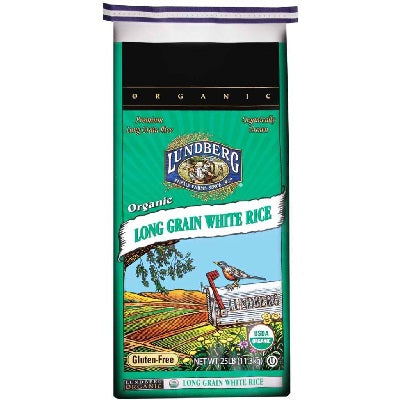 Lundberg Long White Rice (1x25LB )