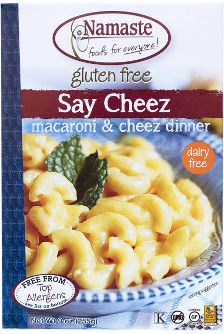 Namaste Foods Say Cheez Pasta Blend (6x9OZ )