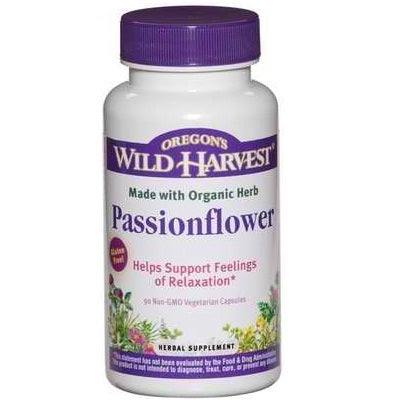 Oregon's Wild Harvest Passionflower (1x90VCAP)