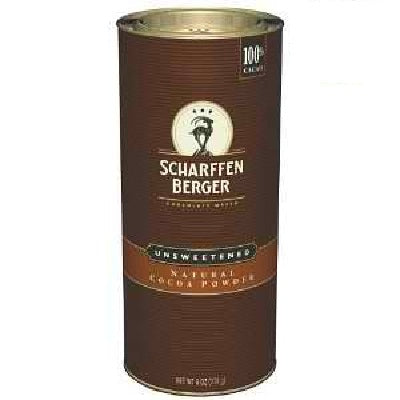 Scharffen Berger Un Sweet Cocoa Powder (6x6OZ )
