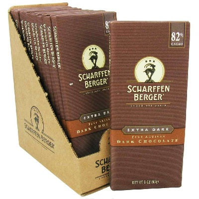Scharffen Berger Ex Dark Chocolate Bar (12x3OZ )