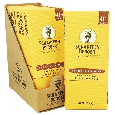 Scharffen Berger Milk Chocolate Bar (12x3OZ )