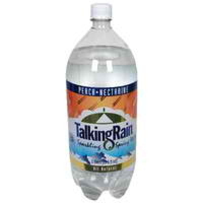 Talking Rain Peach NcSparkling Water (8x2L)