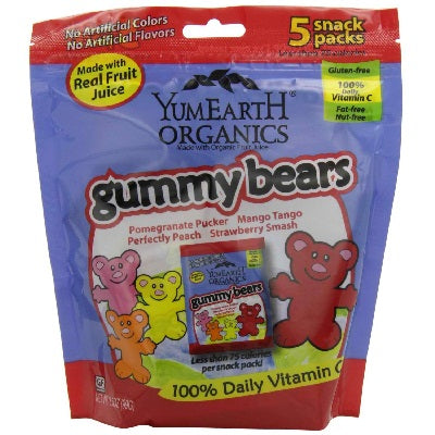 Yummy Earth Gummy Bears (12x5Pack )