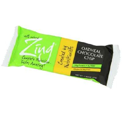 Zing Oatmeal Cchip Bar (12x1.76OZ )