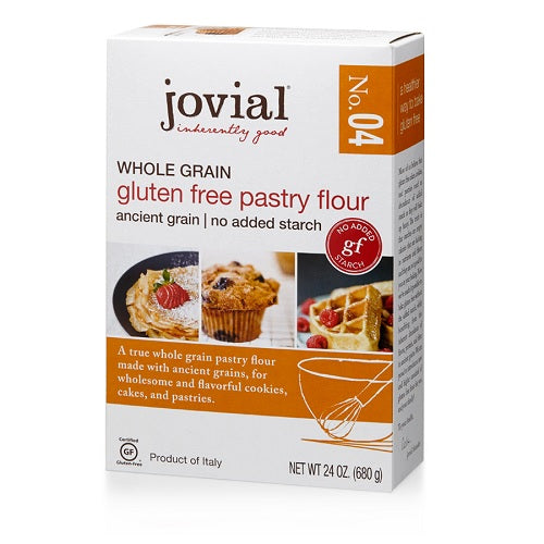 Jovial Whole Grain Gluten Free Pastry Flour No. 4 (6x24 OZ)