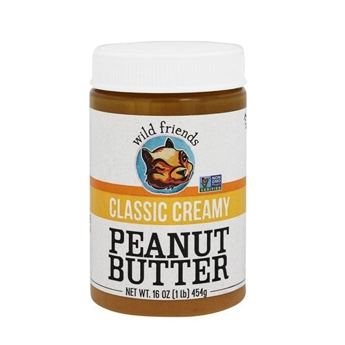 Wild Friends Foods Peanut Butter Classic Creamy (6x16 OZ)
