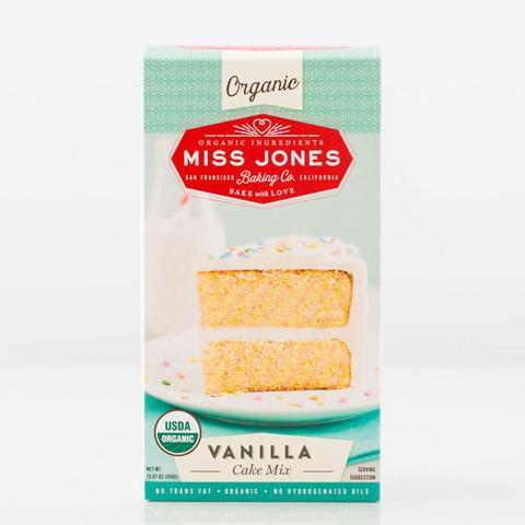 Miss Jones Organic Vanilla Cake Mix (6x15.87 OZ)