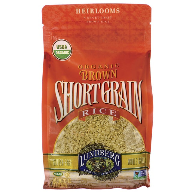 Lundberg Short Grain Brown Rice (6x1 LB  )