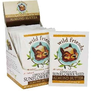 Wild Friends Almond Butter Squeeze Pack Chocolate Sunflower Seed (10x1.15 OZ)