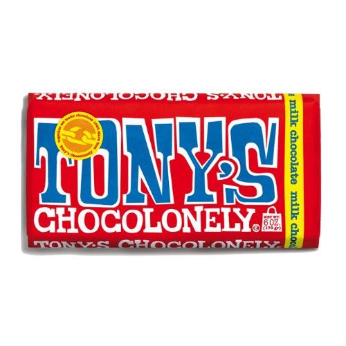 Tony's Chocolonely Milk Chocolate   (15x6 OZ)