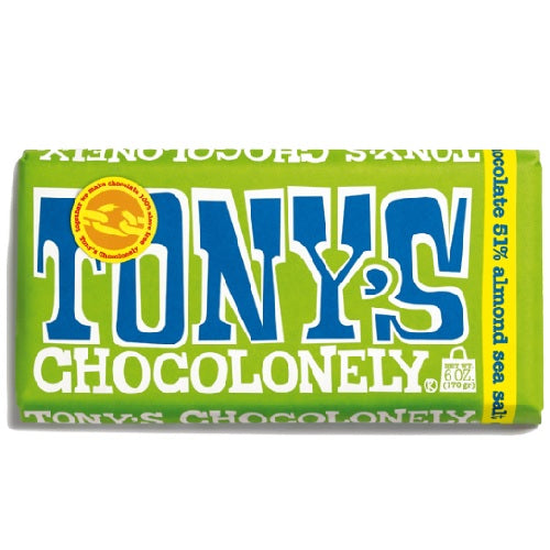 Tony's Chocolonely Dark Chocolate Sea Salt (15x6 OZ)