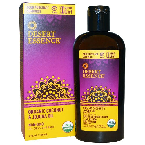 Desert Essence Organic Coconut & Jojoba Oil (1x4 OZ)