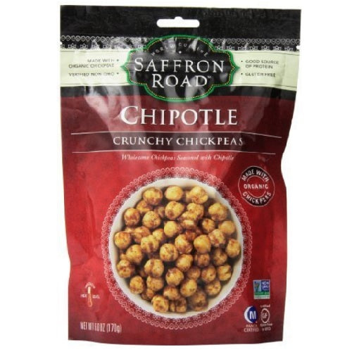 Saffron Road Chickpeas, Chipotle (12X6 OZ)