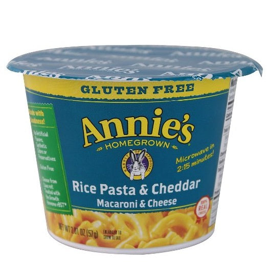 Annie's Homegrown Organic Classic Microwaveable Macaroni & Cheese  (12x2.01 OZ)