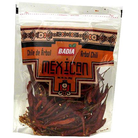 Badia Arbol Chili Pods (12x3 OZ)