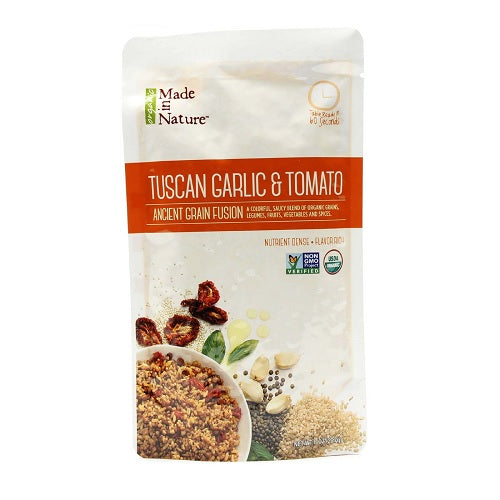 Made In Nature Organic Tuscan Garlic And Tomato Ancient Grain Fusion (6x8 OZ)