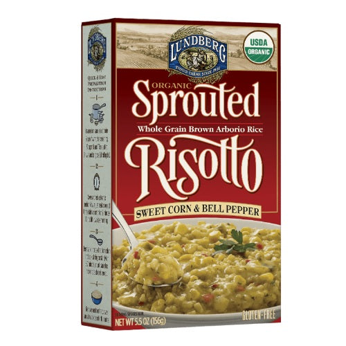 Lundberg Sweet Corn & Bell Pepper Sprouted Risotto (6x5.5 OZ)
