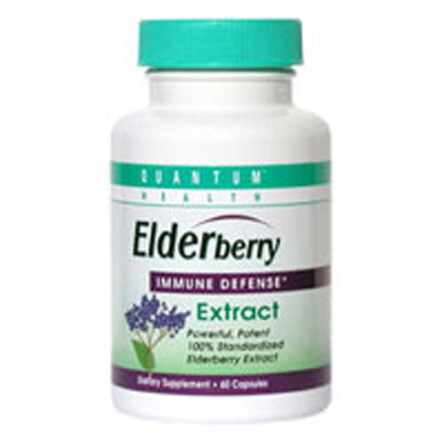 Quantum Health Elderberry Extract 400mg (1x60 CAP)