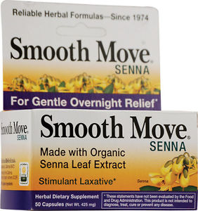 Traditional Medicinals Smooth Move Senna Caps (1x50 CAP)