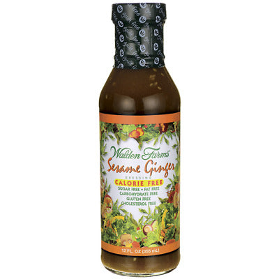Walden Farms Sesame Ginger Salad Dressing (6x12 Oz)