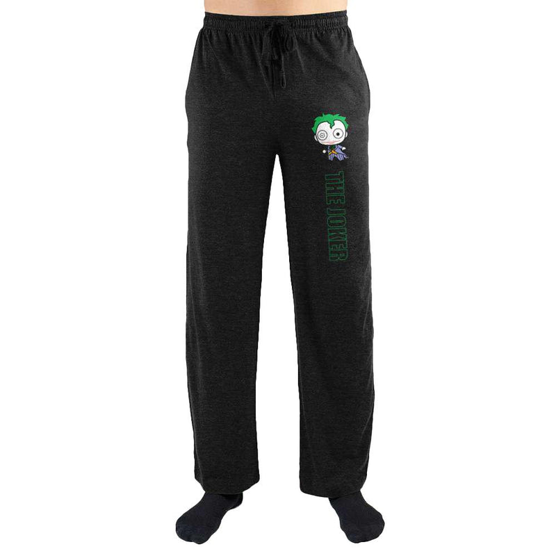 DC Comics The Joker Logo Print Mens Loungewear Lounge Pants