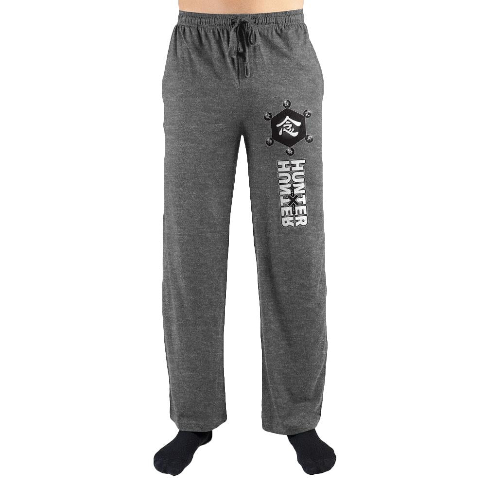 HxH Hunter X Hunter Logo Print Men's Loungewear Lounge Pants