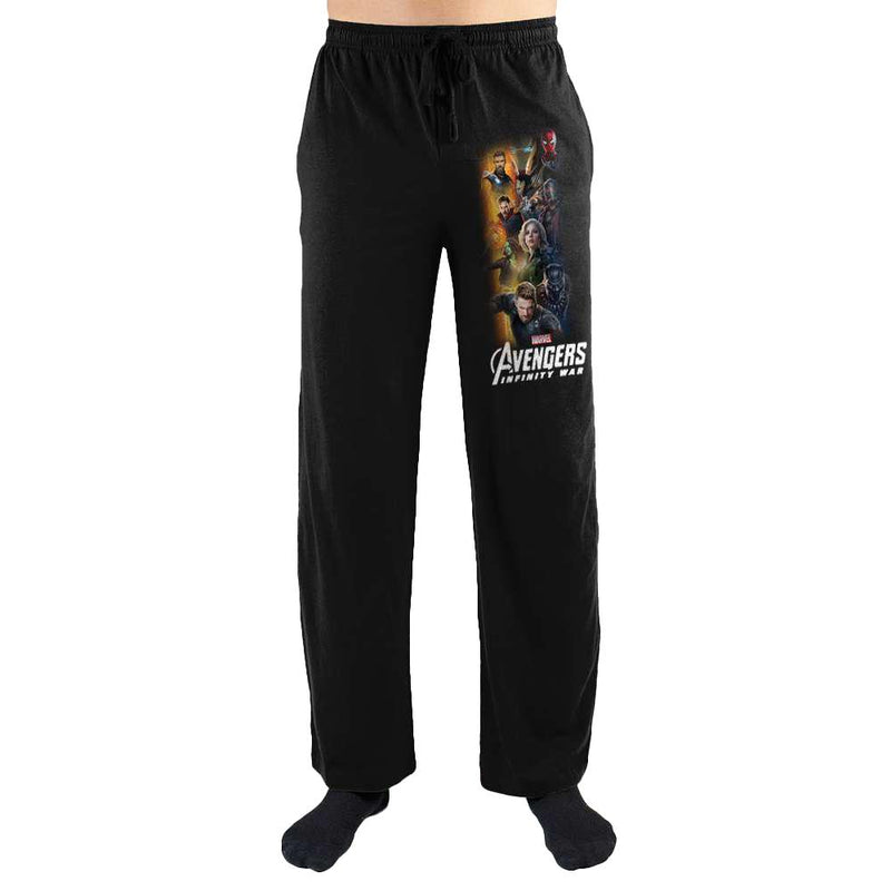 Avengers Infinity War Mens Sleepwear Lounge Sleep Pants Gift