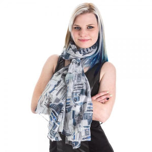 Star Wars R2D2 Viscose Scarf