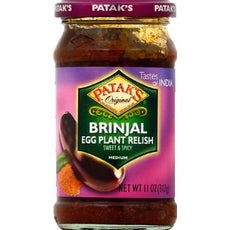 Patak's Brinjal Pickle (6x11Oz)