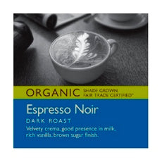 Tony's Coffees & Teas Ground Espresso Noir (6x12Oz)