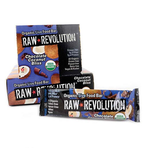 Raw Revolution Chocolate Coconut Bliss (12x1.8 Oz)