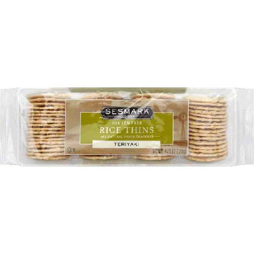 Sesmark Foods Teriyaki Rice Thins (12x4.25 Oz)
