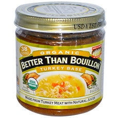 Better Than Bouillon Turkey Base 95% Org  (6x8Oz)