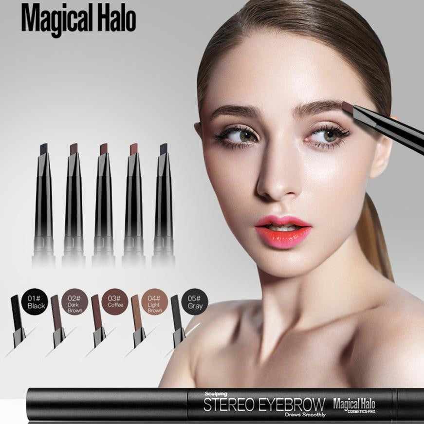 New Brand Eye Brow Tint Cosmetics Natural Long Lasting Paint Tattoo Eyebrow Waterproof 5 colors Eyebrow Pencil Makeup #705