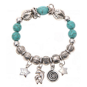 Turquoise Beads Bracelet Handmade Accessories Fashion Jewelry