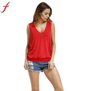 2017 Sexy Backless Tops Women Sleeveless O Neck Shirt Summer Casual Holiday Beach wear Tops Tee Elegant Tanks tops Camis Feminin