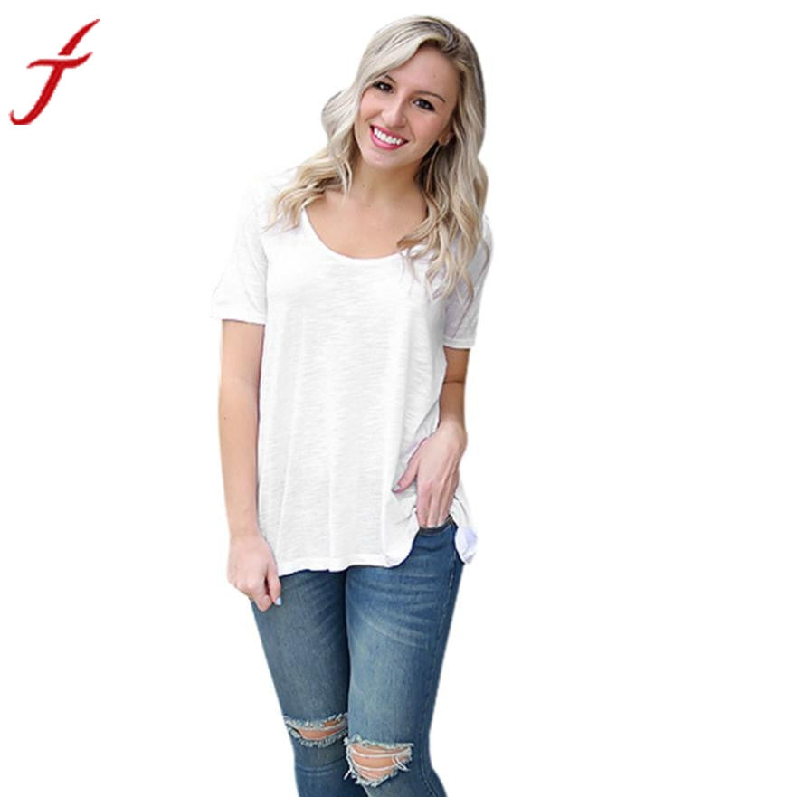 Women tops. Solid Backless White T Shirts Short Sleeve Top Casual Bandage. Easy Dry Cotton Shirt