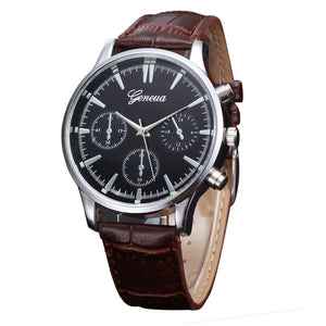 2017 Fashion Men Watches Fashion Casual Geneva Quartz Watch Mens watches Wristwatches For Men Male montre homme