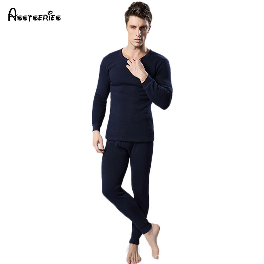 Free Shipping Hot Sale New Thermal Underwear Women Men Winter Thickening Warm Long Johns Top+Pant Sexy Soft Underwears 17hfx