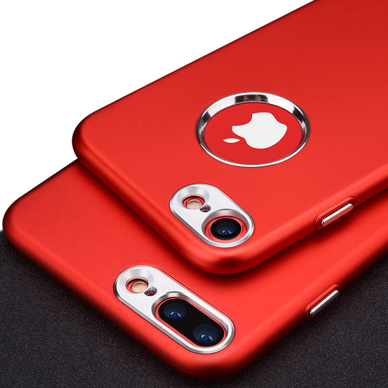 Phone Case For iPhone 7 7 Plus luxury Soft Silicone + Metal Bumper Case.  iPhone 6 6S 8 Plus I6 I7