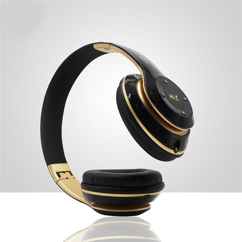 Wireless Bluetooth Headphone Foldable Bluetooth Headset V4.0 On-Ear Design Stereo Bass Headset