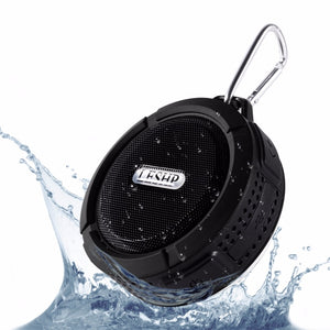 Waterproof Bluetooth Speaker Mini Portable Wireless Loudspeaker with Suction Cup.  iPhone & Samsung
